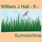 William J Hall, Singer, Songwriter - 8 - Summertime